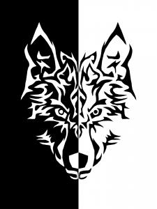 Der Schwarze und der Weiße Wolf