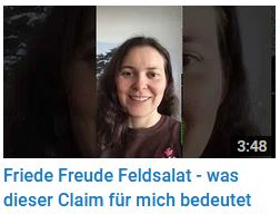 Screenshot von Youtube. Video 3:48 Minuten